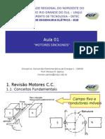 Aula 01 Conv. Eletromecanica II MS Princ Pio de Funcionamento