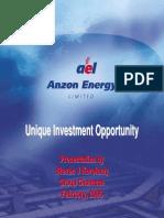Anzon Energy