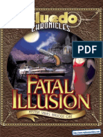 Cluedo Chronicles - Fatal Illusion - UK Manual - PC