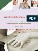 presentation cumbre materno infantil - 1-23-2015