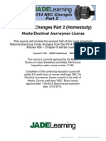 2014 NEC Changes Part 2 (Homestudy) - AK