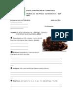 Ficha Informativa - o Aumento Das Interdependencias Mundiais