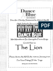 dance blue invite 4d
