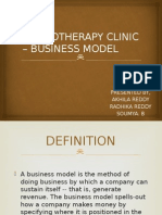 PHYSIOTHERAPY CLINIC – BUSINESS MODEL.pptx