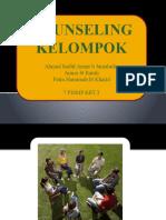 Proses kelompok kaunseling