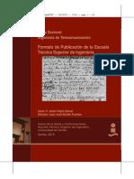 Formato de Publicación de la escuela tecnica superior de ingeniería de sevilla