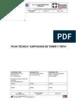 EDC-GFSHA-FT-001 Cartuchos de Tóner y Tinta Vr2