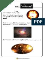 L'Origine dell'Universo e l'origine della Terra