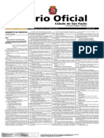 Pde - Novo Plano Diretor de São Paulo - Diário Oficial