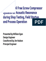 Case Study 03 - Screw Compressor Silencer Design