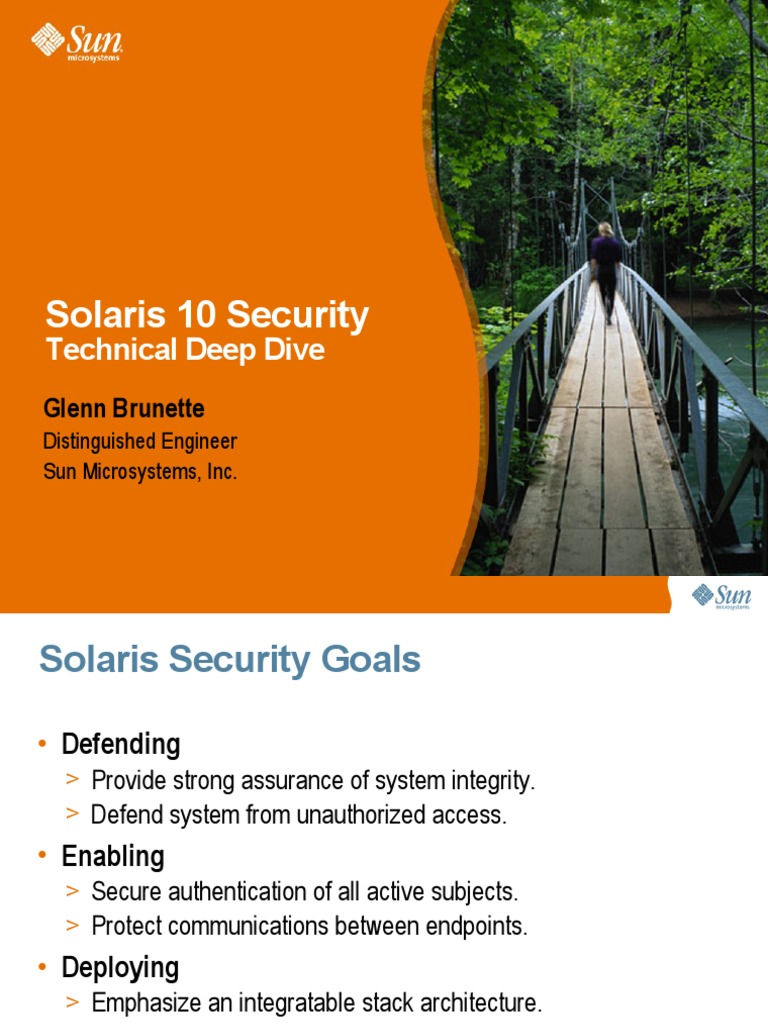 Solaris10 Security Dive 20061024 | Secure Shell | File System