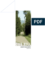Oak Hill Community Design 2005 - Charrette Report