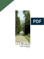 Oak Hill Community Design 2005 - Charrette Report