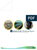Summit Lake Workshop 2010 - Charrette Report
