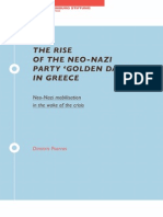 The rise of the neo-nazi party 'Golden Dawn' in Greece