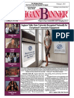 The Michigan Banner February 1, 2015 Edition