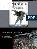 Painting Guide - Alpha Legion
