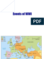 events of wwi