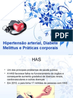 Praticas Corporais e Hipertensão Arterial Sistemica