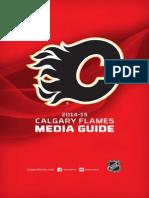 2014-15 Calgary Flames Media Guide
