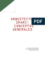 Conceptos Generales Sparc