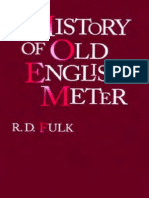 Fulk, R. D.; A History of Old English Meter
