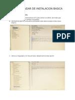 Manual basico Instalacion Windows Profesional
