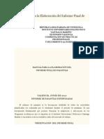 Informacion de Estructura Informe de Pasantia Santiago Mariño