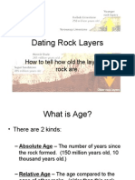 Dating Rock Layers and Human Impact
