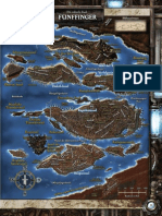Karte Fünffinger