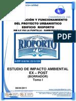 EsIA EXPOST RIOPORTO