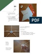 Star Kite Instructions