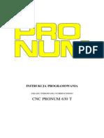 CNC Pronum 630 T