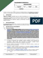 PE705 Adquisiciones