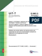 UIT-T Sector de Normalización de las Telecomunicaciones de la UIT