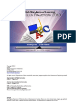 framework english k12