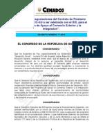 Decreto  11-2010 Art. 8