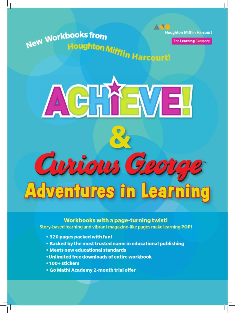 Curious George & Achieve Workbooks_Brochure | Educational Stages ...
