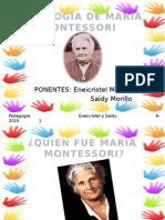 Diapositivas Pedagogia Montessori