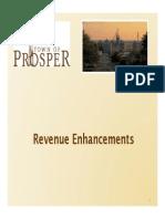 Revenue Enhancements