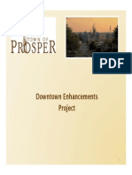 Downtown Enhancements Project