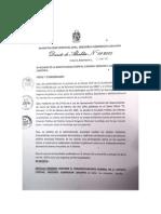 Decreto de Alcaldía 01-2015 - Embanderamiento