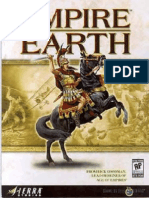 Empire Earth - Manual - PC