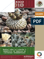 Manual Para La Cosecha y Beneficio de Semillas de Cactáceas Ornamentales (Mexico 2010)