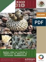 Manual Para La Cosecha y Beneficio de Semillas de Cactáceas Ornamentales (Mexico 2010)