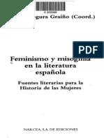Feminismo y Misoginia en La Lª Española