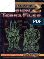 Mekton Zeta - Mecha Manual 2 - Invasion Terra Files