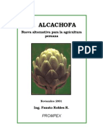 LA ALCACHOFA, Nueva altenativa para la agricultura peruana