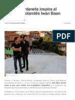 Lomas de Urdaneta inspira al fotógrafo holandés Iwan Baan