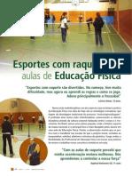 Esporte Com Raquetes Nas Aulas de Ed Fisica